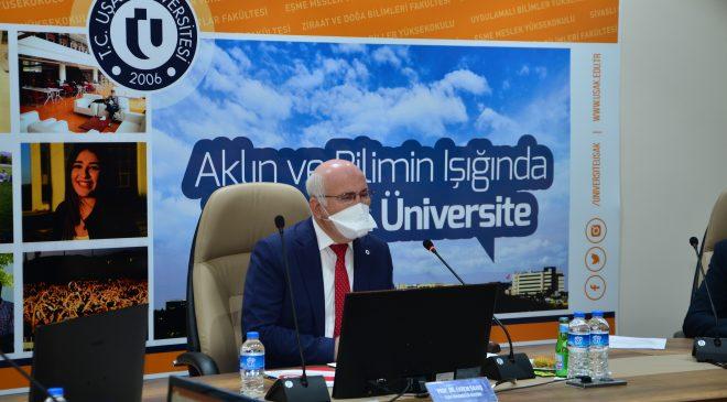 Uşak Üniversitesi Danışma Kurulu Toplantısı Yapıldı