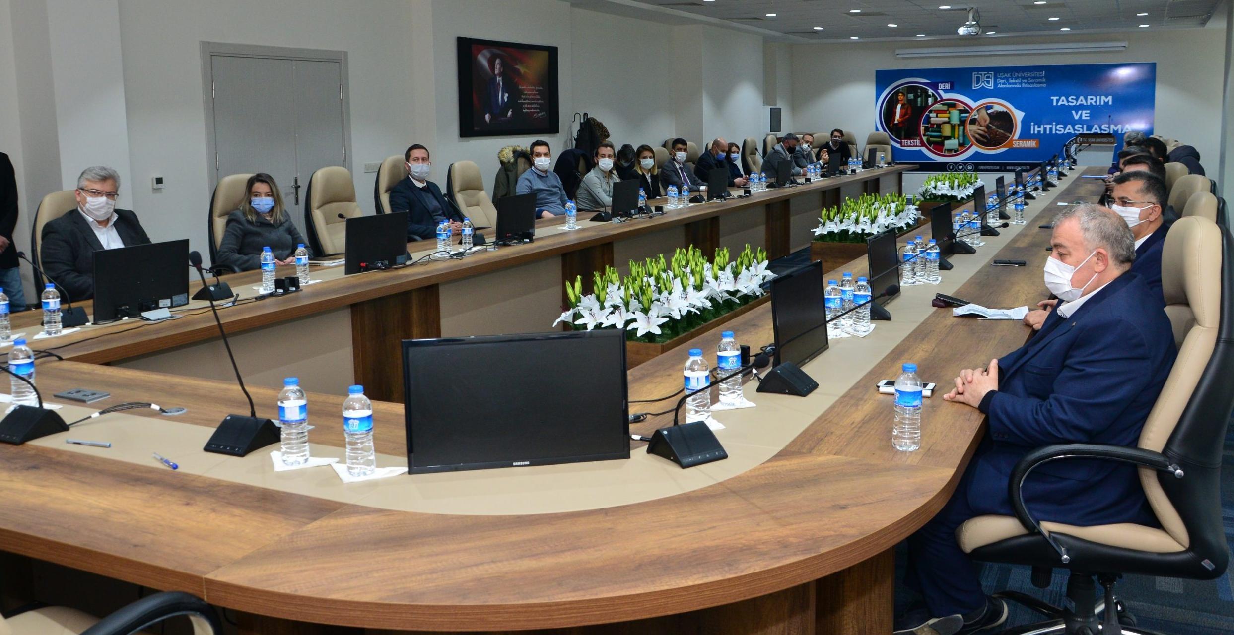 Uşak Üniversitesi Bölgesel Kalkınma ve Girişimciliğin Merkezi Oluyor…