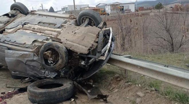 Banaz'da trafik kazası; 3 yaralı