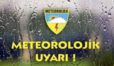 Meteoroloji uyardı…