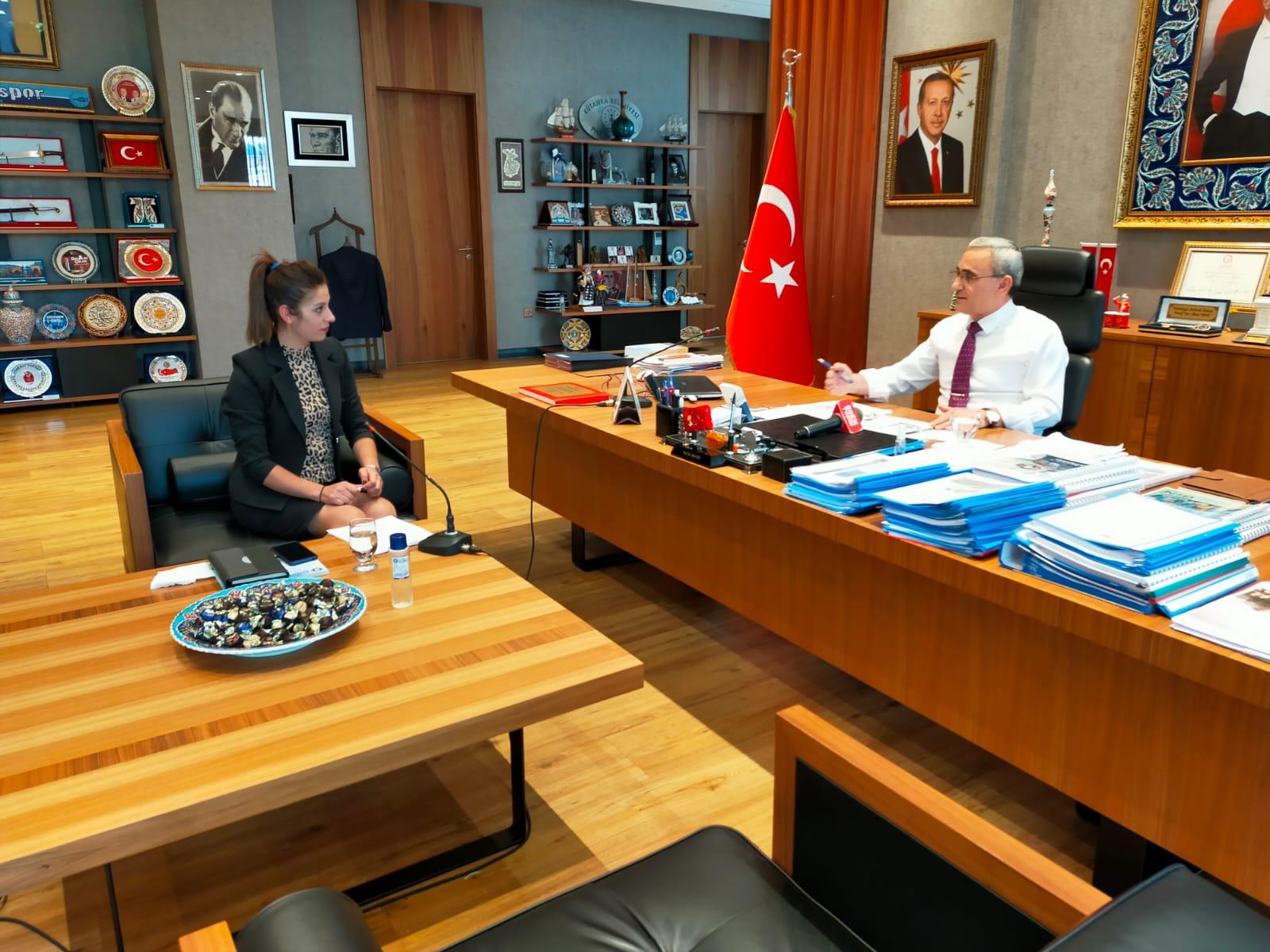 Gündem Özel Programı Kütahya Belediye Başkanı Prof.Dr. Alim IŞIK