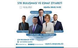 """DEVA Partisi Uşak İl Başkanlığı'ndan """"STK Buluşması ve Esnaf Ziyareti"""""""