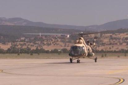 Uşak İl Jandarma Komutanlığı ekipleri, Kurban Bayramı kapsamında helikopter destekli trafik denetimi gerçekleştirdi