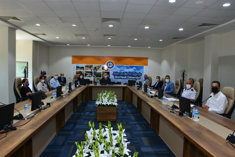 Uşak'ta KPSS güvenlik toplantısı düzenlendi