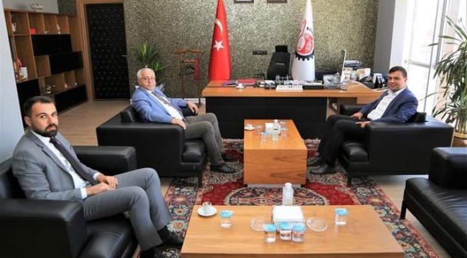 MHP'den Belediye Başkanı Çakın'a Ziyaret.
