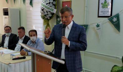 Gelecek Partisi Genel Başkanı Prof.Dr. Ahmet DAVUTOĞLU Uşak'ta.