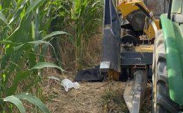 Silaj makinesine kapılan 3 yaşındaki çocuk hayatını kaybetti