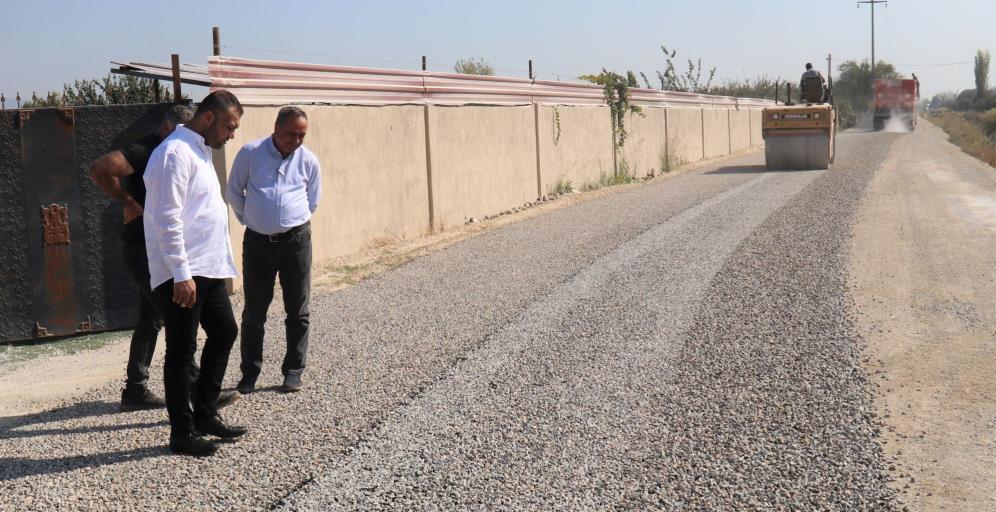 Turgutlu Belediyesinden 15 bin metrekarelik asfalt çalışması